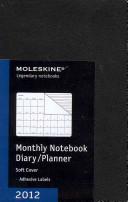 MOLESKINE MONTHLY NOTEBOOK 12 MONTHS POCKET BLACK