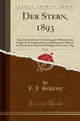 Der Stern, 1893, Vol. 25