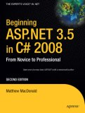 Beginning ASP.NET 3.5 in C# 2008