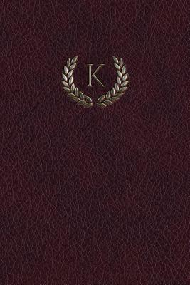Monogram K Notebook