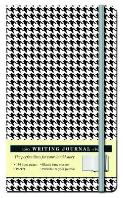 Houndstooth Black and White Journal