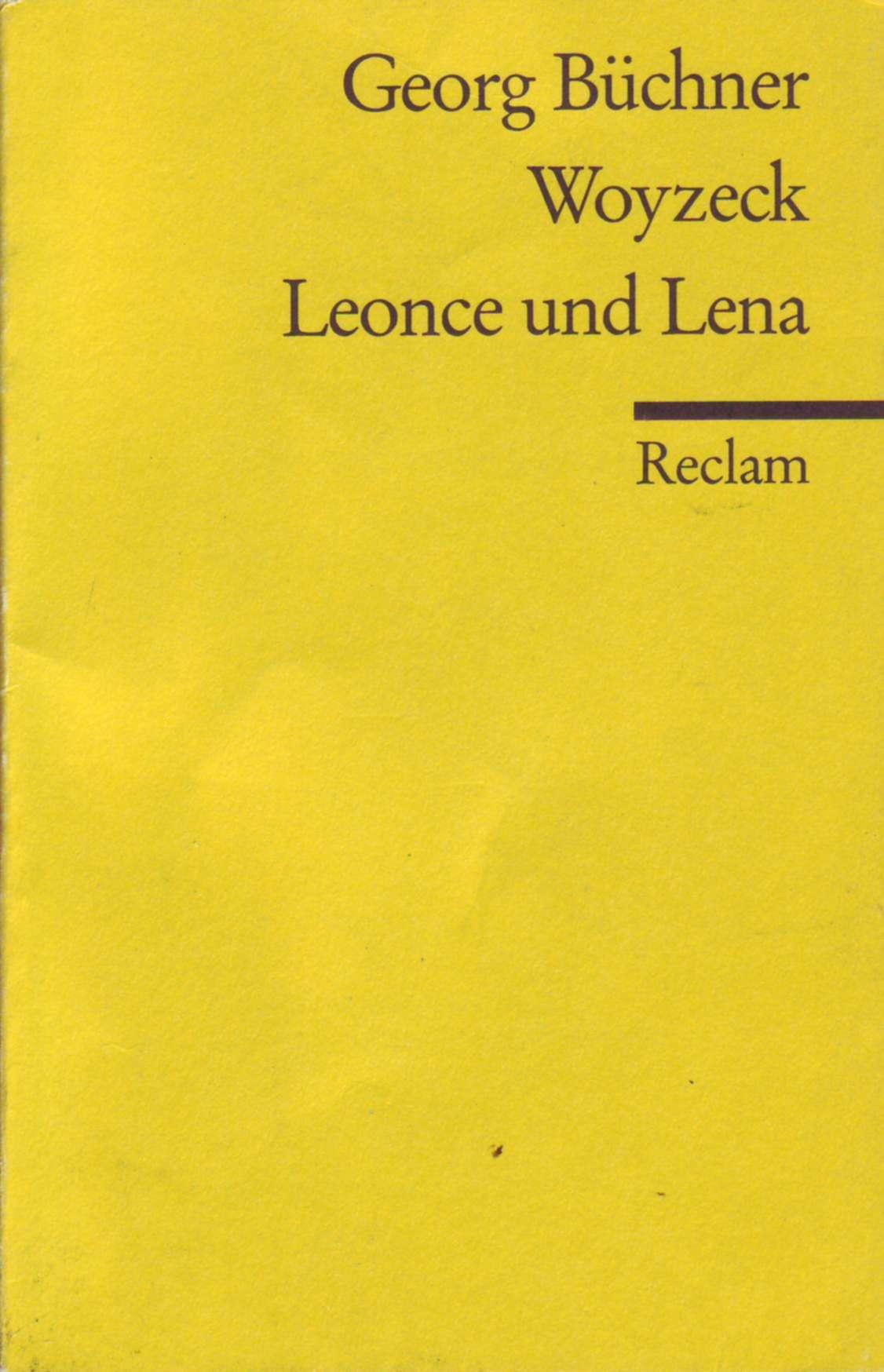 Woyzeck - Leonce und...