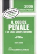 Il codice penale e le leggi complementari