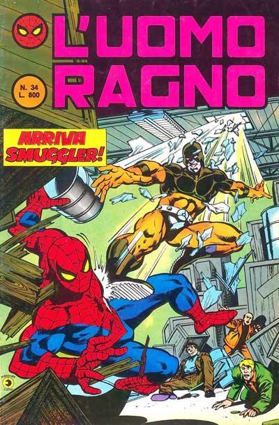 L'Uomo Ragno (2a serie) n. 34