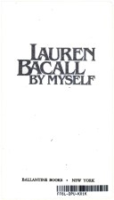 Lauren Bacall by Mysel