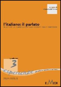 L' italiano: il parlato