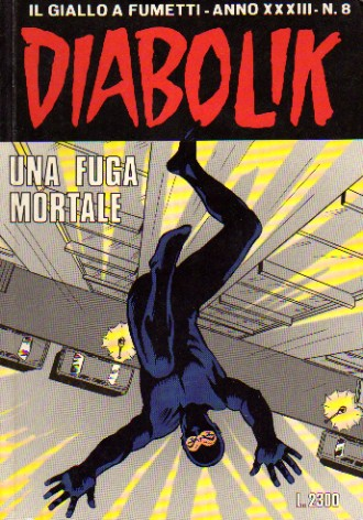 Diabolik Anno XXXIII n. 8