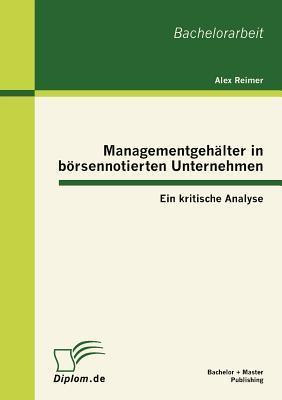 Managementgehälter in börsennotierten Unternehmen