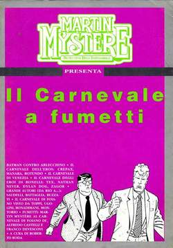Martin Mystère - Il carnevale a fumetti