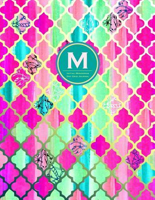 Initial M Monogram Journal