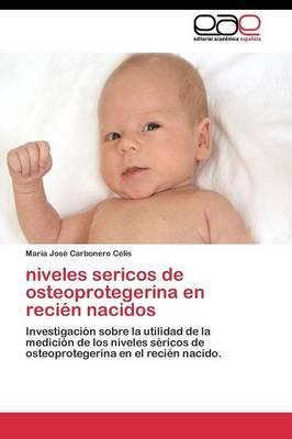 niveles sericos de osteoprotegerina en recién nacidos