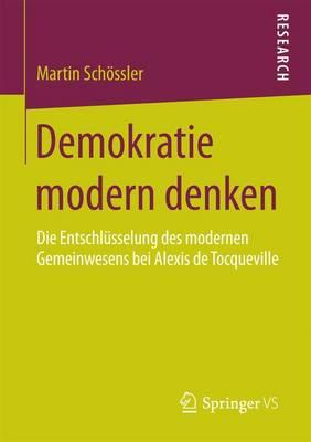 Demokratie Modern Denken