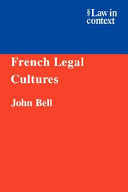 French Legal Culture...