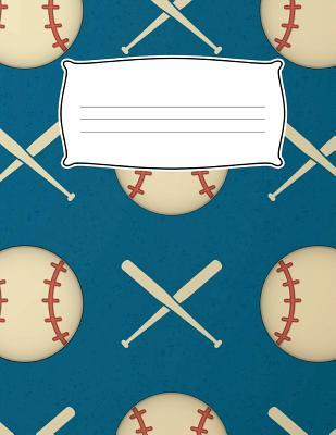 Kids Sport Baseball Primary Journal Composition Notebook for Elementary School