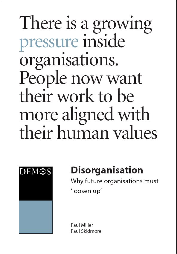 Disorganisation
