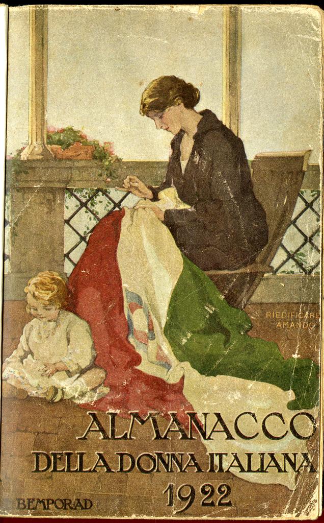 Almanacco della donna italiana, anno 1922