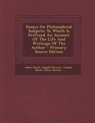 Essays on Philosophi...