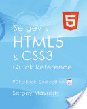 Sergey's Html5 and Css3