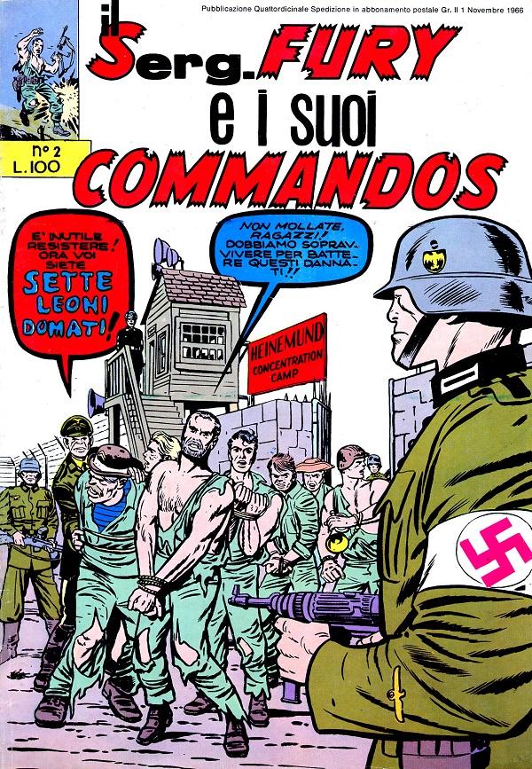 Il serg. Fury e i suoi commandos n. 2