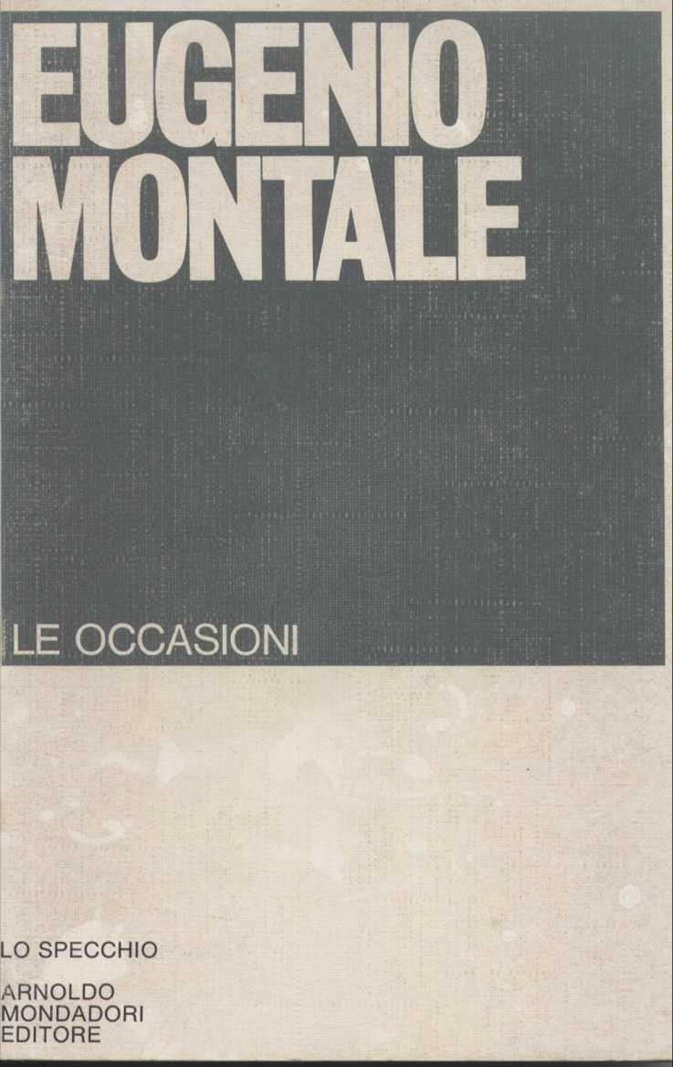 Le occasioni (1928-1939)