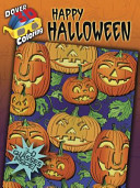 3-D Coloring Book--Happy Halloween