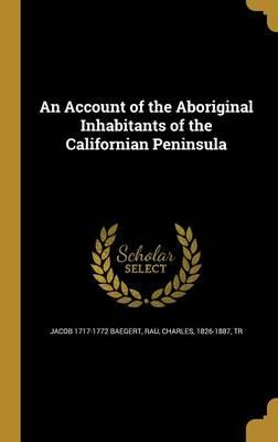 ACCOUNT OF THE ABORIGINAL INHA