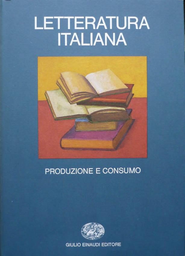 Letteratura italiana volume secondo