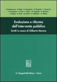 Evoluzione e riforma dell'intervento pubblico. Scritti in onore di Gilberto Muraro