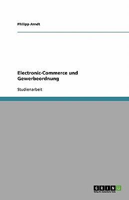 Electronic-Commerce und Gewerbeordnung