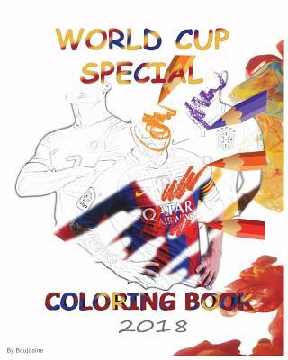 World Cup Special Coloring Book 2018