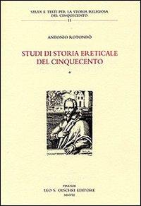 Studi di storia ereticale del Cinquecento (2 vol)