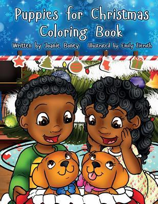 Puppies for Christmas Coloring Book