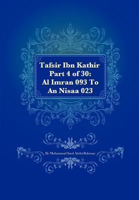 Tafsir Ibn Kathir Part 4 of 30