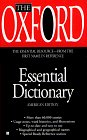 The Oxford Essential Dictionary