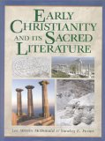 Early Christianity and its Sacred Literature