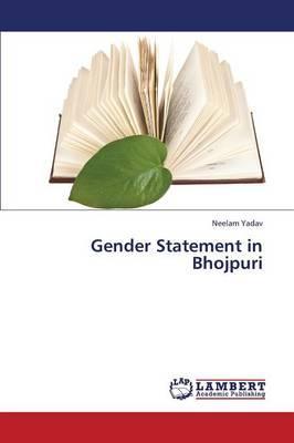 Gender Statement in Bhojpuri