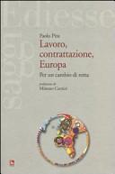 Lavoro, contrattazione, Europa