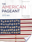 The American Pageant, Volume II, 15th ed.