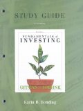 Fundamentals of Investing: Study Guide