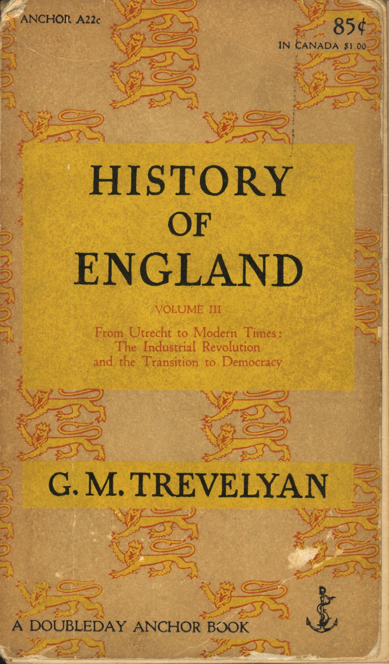 History of England, ...
