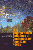 The Autumn House Anthology of Contemporary American Poetry