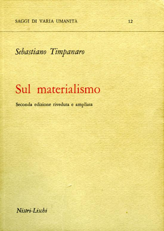 Sul materialismo