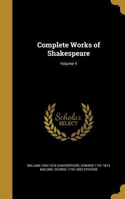 COMP WORKS OF SHAKESPEARE V04