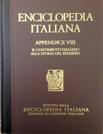 Enciclopedia italiana di scienze, lettere ed arti - Appendice VIII