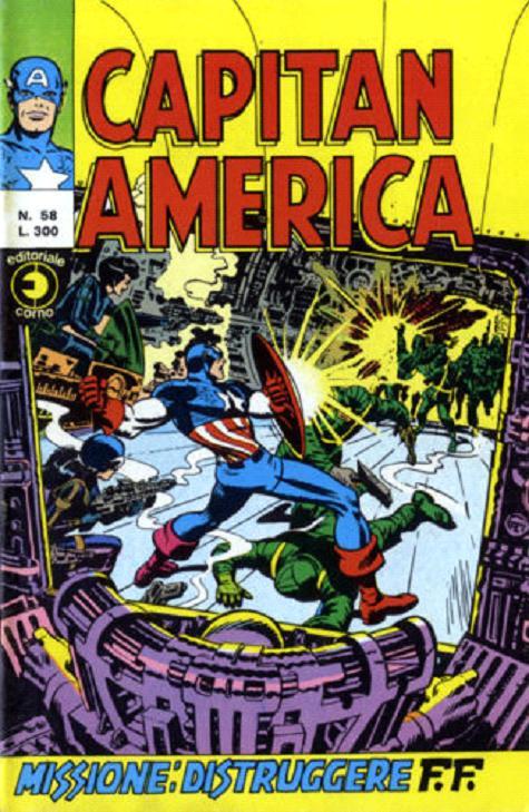 Capitan America n. 58