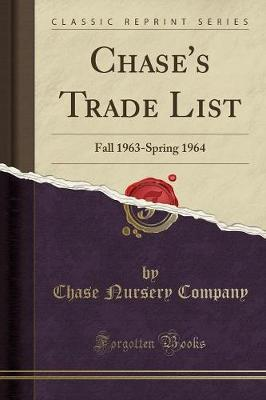 Chase's Trade List