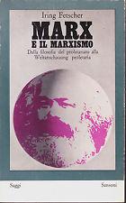 Marx e il marxismo