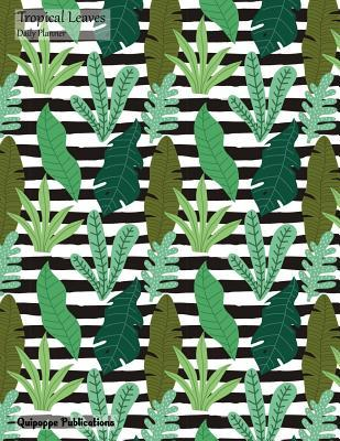 Tropical Leaves Daily Planner