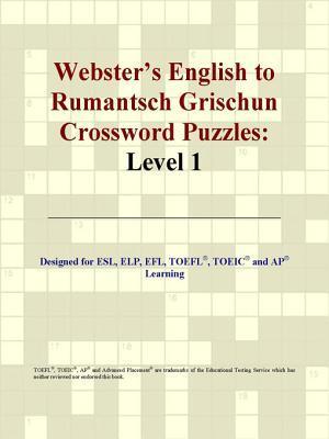 Webster's English to Rumantsch Grischun Crossword Puzzles