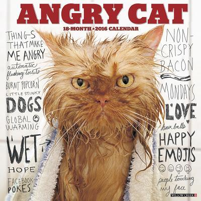 Angry Cat 2016 Calen...